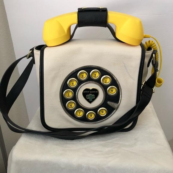 6434d872b3d48 Betsey Johnson Handbags - Betsey Johnson Vintage Phone Bag. Phone works!